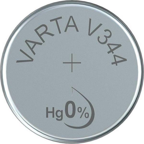Silberoxid-Knopfzelle Typ SR42 / V344 von Varta